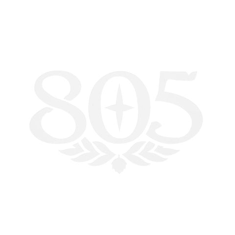 805 Car Decal