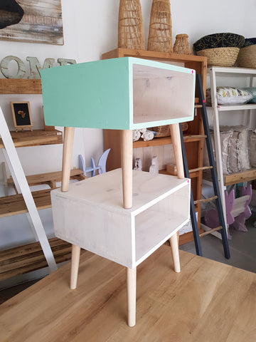 Scandi Box Side Table