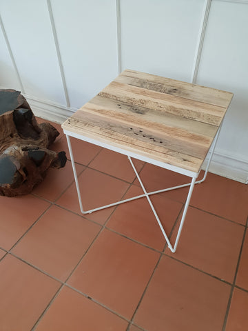 Steel Side Table