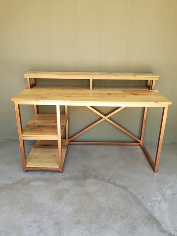 Rustic Copper Frame Desk