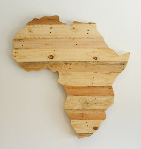 Africa - Natural Wood
