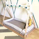 Toddler Cot Teepee Bed