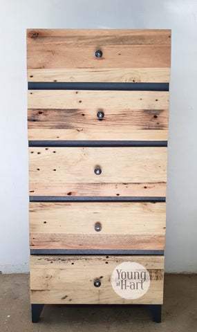 Leigh Rustic Chest of Drawers