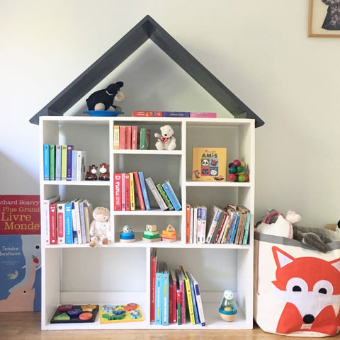 House-Book Shelf
