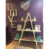 Easy A-Frame Shelf