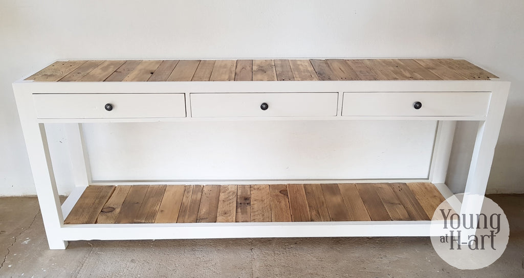 Rustic Drawer Server