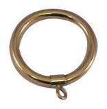 "Antique Brass Curtain Ring 2.0"" (3 1/16"" OD, 2.5"" ID)"