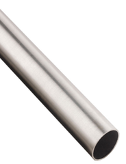 "Cut to Length Satin Stainless Steel Tubing 1.0"" OD"