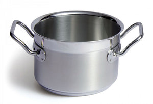 Silga Teknika World's Best Stainless Steel Cookware High Saucepan or Casserole without a lid