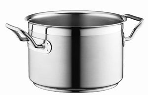 Silga Teknika World's Best Stainless Steel Cookware High Saucepan or Casserole without a lid - 6.7 litres