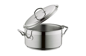 Silga Teknika World's Best Stainless Steel Cookware Saucepan or Casserole with a lid - 1 litre