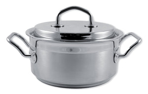 Silga Teknika World's Best Stainless Steel Cookware Saucepan or Casserole with a lid - 4.7 litre