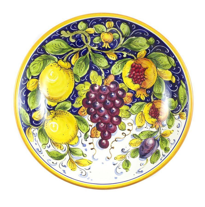 "Borgioli - Mixed Fruits - Salad Bowl 30cm (11.8"")"