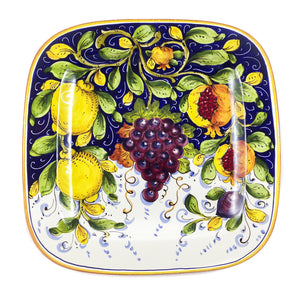 "Borgioli Mixed Fruits Square Platter - 34cm (13.4"")"