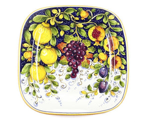 "Borgioli - Mixed Fruits - 40cm x 40cm Square Platter (15.7"" x 15.7"")"