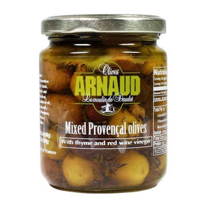 Arnaud Mixed Provencal Olives with  Thyme de Provence