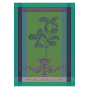 "Garnier Thiebaut ""Brin de Basilic"" Kitchen Towel"