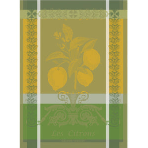 "Garnier Thiebaut ""Les Citrons"" Kitchen Towel"