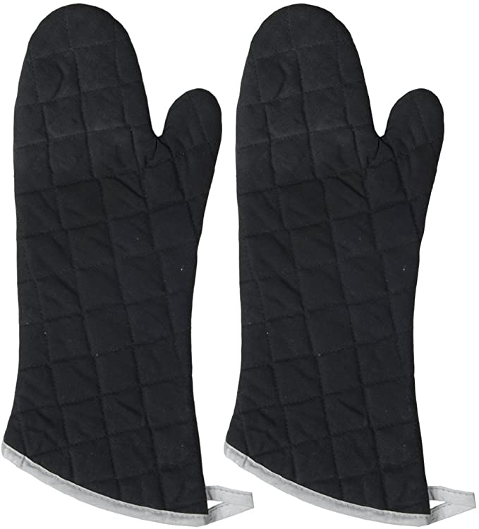 Extra Long Flameguard BBQ Oven Mitts