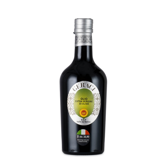 Geraci Valle del Belice Extra Virgin Olive Oil - 500ml (16.9oz)