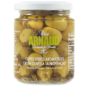 Arnaud Green Olives with Herbs de Provence