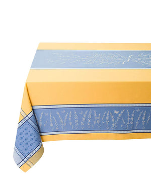 Tissus Toselli Grignan Yellow/Blue