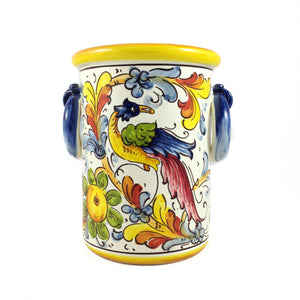 Borgioli Birds of Paradise Bottle or Utensil Holder