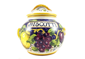 Borgioli - Mixed Fruits - Large Biscotti Jar