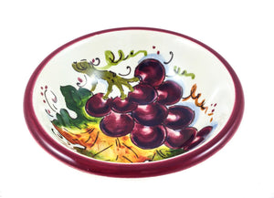 Borgioli Grapes Pinzimonio Bowl