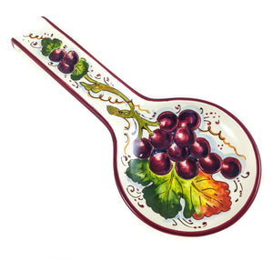 Borgioli Grapes Spoon Rest