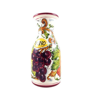 Grapes wine vino bottle caraffe