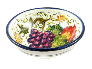 Borgioli Grapes Cereal Bowl