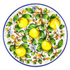 "Borgioli Lemons on White Salad Bowl - 40cm (15.7"")"
