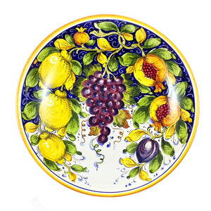 "Borgioli - Mixed Fruits - Salad Bowl - 35cm (13.8"")"