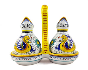Sberna Raffaellesco Oil & Vinegar Cruet Set