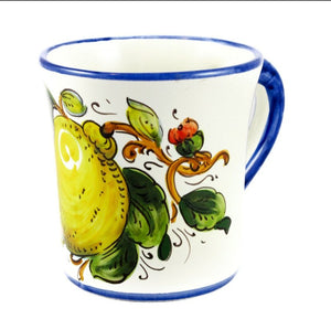 Borgioli - Lemons on White - Mug