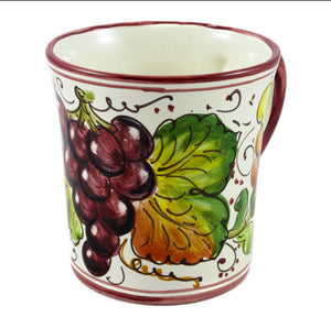 Borgioli Grapes Mug