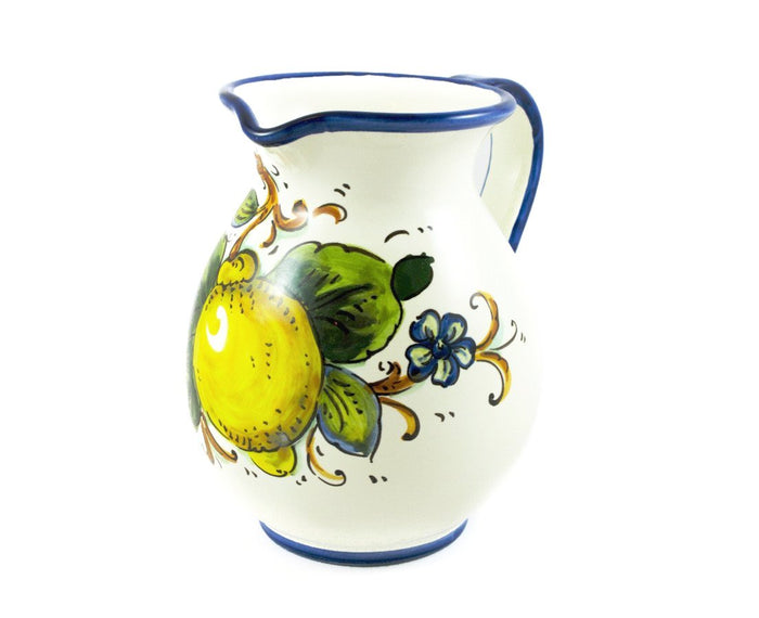 Borgioli - Lemons on White - 1L Pitcher (33.8 fl oz)