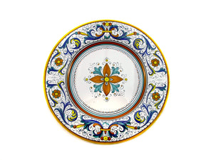 Sberna Deruta Dinner Plate - Smooth Edge