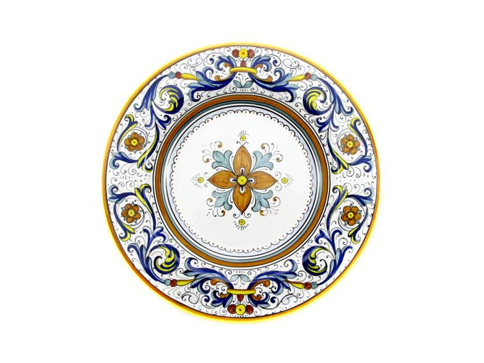 Sberna Deruta Salad Plate -Smooth Edge