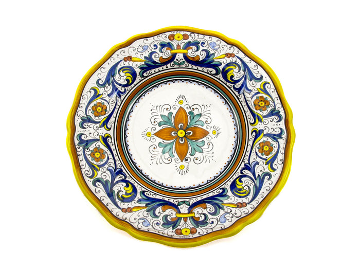 Sberna Deruta Scalloped Pasta Bowl
