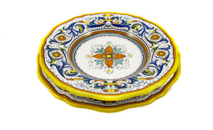 Sberna Deruta Scalloped Dinner Plate