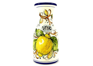 Lemons Limone wine vino bottle carafe