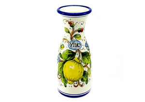 Borgioli Lemons on White Wine Bottle - 1 Litre