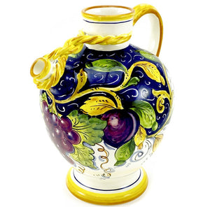 Borgioli - Mixed Fruits - Knotted Pitcher