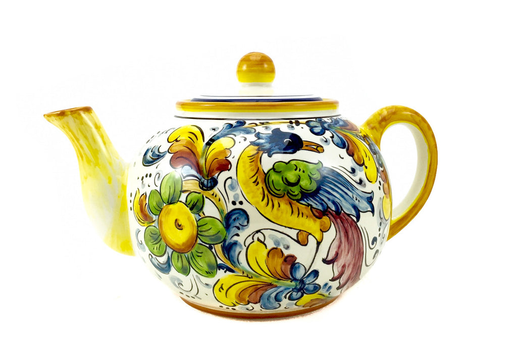 Borgioli Birds of Paradise Tea Pot