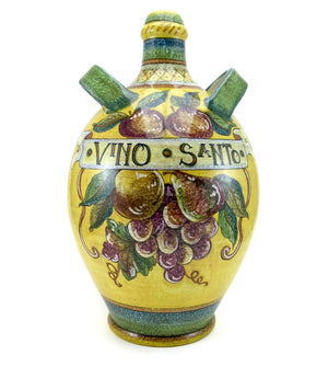 "Gialletti & Pimpinelli Fruit on Yellow ""Vinsanto"" Bottle"