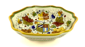 Gialletti & Pimpinelli Umbria Scalloped Bowl