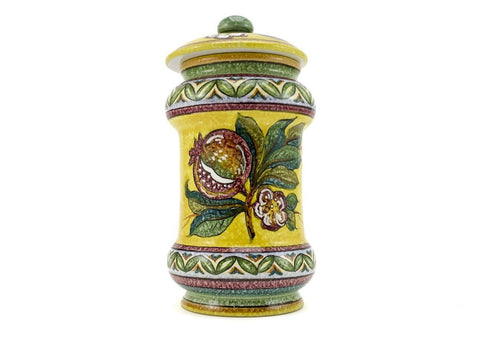 Gialletti & Pimpinelli Fruit on Yellow Medium Canister