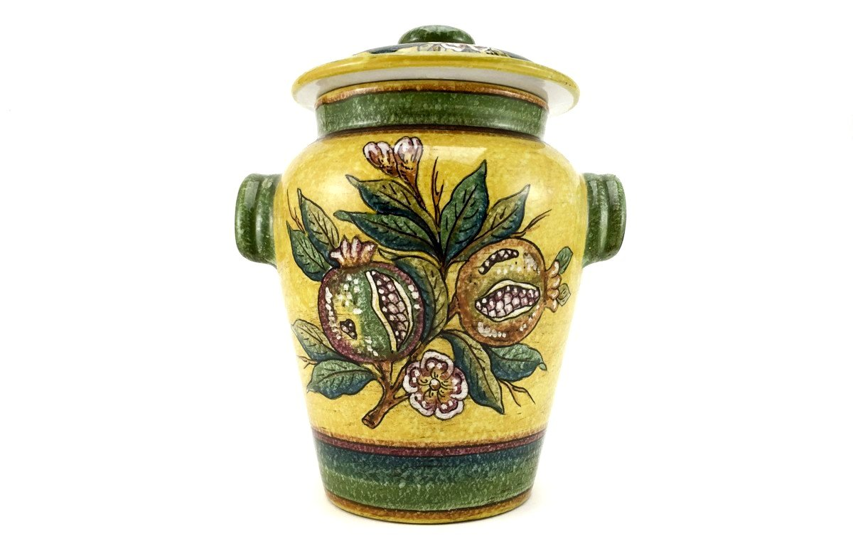 gialletti u0026 pimpinelli fruit on yellow canister u2013 the tuscan kitchen